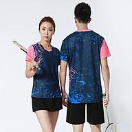 Áo thể thao cầu lông Nam Sunbatta Y-M2003 chất liệu 100% Polyester, nhẹ nhàng, khô thoáng, nhanh khô, không lưu lại mùi và vệt mồ hôi trên áo thumbnail