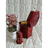 Hộp đựng gói trà gỗ hương trạm mặt tích chim hoa size lớn kèm hộp tăm - CHTT1602 thumbnail