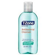 Nươ c Hoa Hô ng Ngư a Mu n, Se Lô Chân Lông Tra m Tra T-zone Antibacterial Cleanser 200ml thumbnail