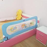 Thanh chắn giường ngủ an toàn cho bé Mastela BR002 - loại 1 thanh độc lập không khớp nối thumbnail