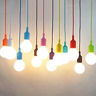 Đuôi đèn thả kín nước chất liệu nhựa đủ màu thumbnail