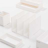 Xiaomi Nusign Máy tính để bàn Đế sách 3 Lưới Thiết kế Sách Bezel DIY Bookend Phân loại Tài liệu Tổ chức Giá sách Tệp thumbnail