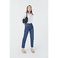 TheBlueTshirt - On Way Jeans Ever Blue Wash - Quần Jeans Ống Suông Xanh Đậm thumbnail