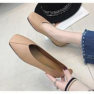 Giày Búp Bê Nữ Mũi Vuông Da Mềm Siêu Xinh MPS179 - Mery Shoes thumbnail