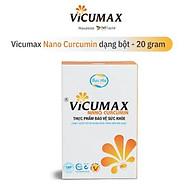 Vicumax Nano Curcumin dạng bột hộp 20gr - Tinh chất nghệ vàng, hỗ trợ dạ dày, đẹp da, tăng cường sức khỏe - VI0HB020 thumbnail