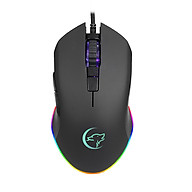 YWYT G812 USB Wired Mouse Gaming Mouse 3200DPI 6 Buttons Optical Gaming Mouse Ergonomic Mouse with Colorful Breathing thumbnail