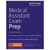 Medical Assistant Exam Prep Your All-in-One Guide To The CMA & RMA Exams (Kaplan Medical Assistant) thumbnail