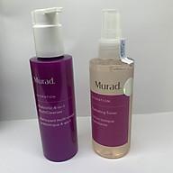 Sữa rửa mặt tẩy trang sinh học 4 in 1 Murad Prebiotic 4-In-1 MultiCleanser TẶNG Toner hồi sinh và thêm ẩm Murad Hydrating Toner (full size) thumbnail