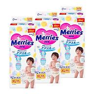 3 Gói Tã Dán Merries Size XL - 44 Miếng (Cho Bé 12 - 20 Kg) thumbnail