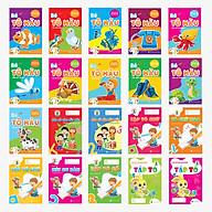 Combo 20 cuốn - Bé Tô màu - Luyện chữ (Mầm non - Chuẩn bị vào lớp 1) thumbnail