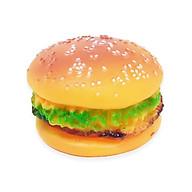 Đồ chơi nhựa mềm hamburger có phát âm thanh cho thú cưng - Hàng nhập khẩu Hàn Quốc thumbnail