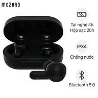 Tai nghe Bluetooth True Wireless Mozard Air 3 Đen - Hàng Chính Hãng thumbnail