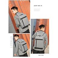 Balo nam đi học đi chơi phong cách Hàn Quốc mới nhất 2021 cổng sạc USB BL919 thumbnail