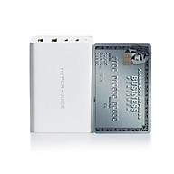 Sạc đa cổng HyperJuice GaN 100W Smallest 2 cổng USB-C + 2 cổng USB-A - HJ-GAN100 - hàng chính hãng thumbnail