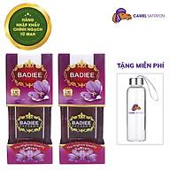 Nhụy Hoa Nghệ Tây Chính Ngạch Saffron Badiee Combo 2 hộp 1gram hộp Tặng bình nước 300ml thumbnail