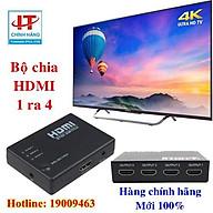 Bộ chia HDMI 1 ra 4 cổng HDMI - HDMI Splitter 1x4 cổng 3D 1080DPI thumbnail