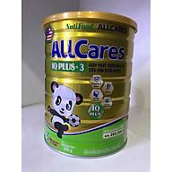 Sữa bột ALLCares IQ Plus+ 3 lon 900g - Giúp phát triển não bộ, tiêu hoá khoẻ mạnh của NutiFood thumbnail