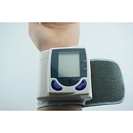 Máy kiểm tra huyết áp, Máy đo huyết áp đo cổ tay Dùng pin cho kết quả chính xác thumbnail