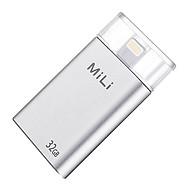 Ổ Cứng Di Động Mili IDATA 32GB USB 3.0 (Bạc) - Hàng Chính Hãng thumbnail