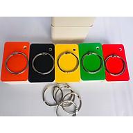 5 bộ flashcard trắng cao cấp 4x7cm ivory (màu bìa ngẫu nhiên như hình) định lượng 350gsm Bộ thẻ ghi nhớ Flashcard 500 thẻ flashcard trắng học từ vựng Anh Nhật Hàn Trung bo góc kèm khoen + BÌA CỨNG 3D thumbnail