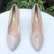 Giày cao gót da bóng nữ thời trang phong cách 21562 thumbnail