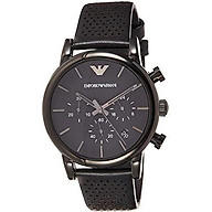 Emporio Armani Men s AR1949 Dress Blue Nylon Watch thumbnail