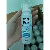 Chai xịt diệt khuẩn Nano bạc AHT 100ml thumbnail