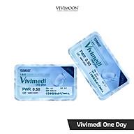 Kính Áp Tròng Trong Suốt Cho Mắt Thở 1 Ngày VIVIMOON Vivimedi One Day thumbnail