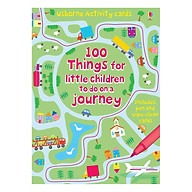 Usborne 100 Things for little children to do on a journey thumbnail
