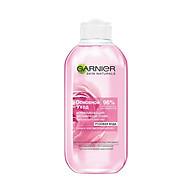 Nước hoa hồng dành cho da khô và nhạy cảm Garnier soothing vitamin tonic rose extract 200ml thumbnail