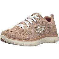 Skechers Women s Flex Appeal 2.0 Sneaker,taupe natural thumbnail