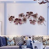 Phù điêu trang trí treo tường Hoa cổ điển màu tím mộng mơ thumbnail