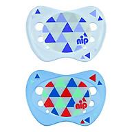 Bộ 2 Ti Ngậm Phát Sáng Ban Đêm Night Nip Silicon Nip31309 (Cỡ 1) thumbnail