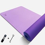 Thảm tập Yoga TPE 6mm Cao Cấp Bám Siêu Dính - Tặng kèm túi đựng thumbnail