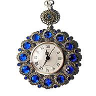 Đồng hồ treo tường mini - Đồng hồ đẹp màu xanh ngọc (kt 15x24,5cm) thumbnail