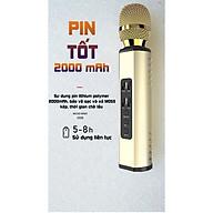 Micro karaoke kèm Loa bluetooth cao Cấp có khe Cắm thẻ nhớ 3 trong tương thích với hầu hết các thiết bị hỗ trợ kết nối bluetooth - Hàng Chính Hãng PKCB thumbnail