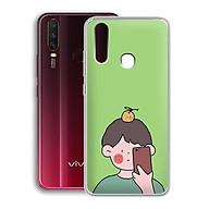 Ốp lưng dẻo cho điện thoại Vivo Y15 - 01216 7898 BOY01 - in hình chibi dễ thương - Hàng Chính Hãng thumbnail