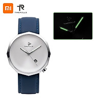 Đồng hồ thạch anh Xiaomi Youpin TIMEROLLS Đồng hồ đeo tay phát sáng Con trỏ ban đêm Vỏ thép không gỉ Da chống nước thumbnail