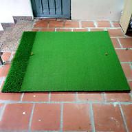 Thảm Tập Swing Golf ECO [1,25m x 1,25m] Cao cấp, Đàn hồi tốt, có cỏ tập chíp, kèm Tee cao su. thumbnail