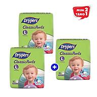Combo 2 gói tã quần Drypers Classicpantz L 16 miếng (9 - 14kg) + tặng 1 gói cùng loại thumbnail