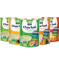 Lốc 5 - Cháo Tươi Baby Sài Gòn Food 240g, Gà, Thịt Bằm, Tôm, Lươn, Cá Hồi thumbnail