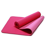 Thảm Tập Yoga Eco Friendly TPE - Hô ng (6mm) thumbnail