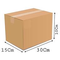 30x15x10 - Combo 10 thùng giấy carton gói hàng thumbnail
