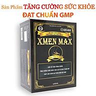 XMEN MAX - Cải thiện chức năng Sinh Lý Nam, Bồi bổ sức khỏe Nam giới, cải thiện tình trạng suy nhược cơ thể, sức đề kháng (Hộp 60 viên) thumbnail