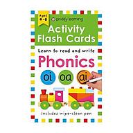 Activity Flash Cards Phonics - Activity Flash Cards (Paperback) thumbnail