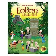 Usborne Explorers Sticker Book thumbnail