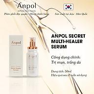 Serum Thiên Nhiên Cao Cấp Hàn Quốc Anpol Secret Multi Healer (50ml) Giúp Dưỡng Trắng Và Giảm Mụn - Kháng Viêm, Được Sản Xuất Tại Đảo Jeju thumbnail