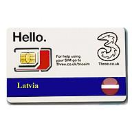 Sim du lịch Latvia 4g tốc độ cao thumbnail
