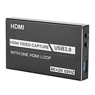 ROGTZ Bộ HDMI Video Capture USB 3.0 Hỗ Trợ 4K Game Video Record Live Streaming Recorder - Hàng Chính Hãng thumbnail