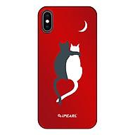 Ốp Dành Cho iPhone XS Max iPearl Luminous (6954268136084 - Couple Cat) - Hàng chính hãng thumbnail